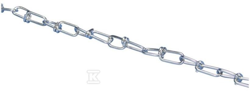 Łańcuch CHK22K szer/wys: 9x28 mm, grubość drutu: 2,0 mm obciążenie max: 400 N /30m/