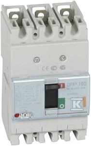 Wyłącznik mocy z wyzwalaczem termiczno-magnetycznym DPX3 160 3P 40A 25KA