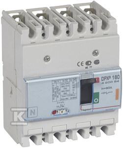Wyłącznik mocy z wyzwalaczem termiczno-magnetycznym DPX3 160 4P 80A 25KA