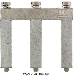 Złączka szynowa poprzeczna / mostek WQV 70/95/3