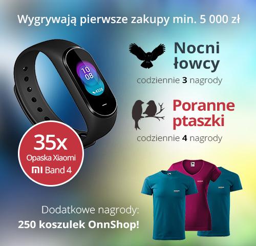 Promocja OnnShop - Nocni łowcy i Poranne ptaszki